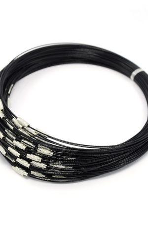 lot de 10 câble acier gainé