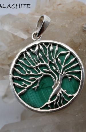 Bijoux arbre de vie en argent