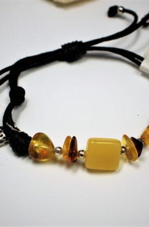 bracelet en ambre naturel
