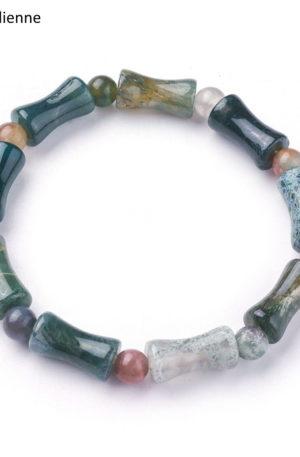 Bracelet agate Indienne 8 mm
